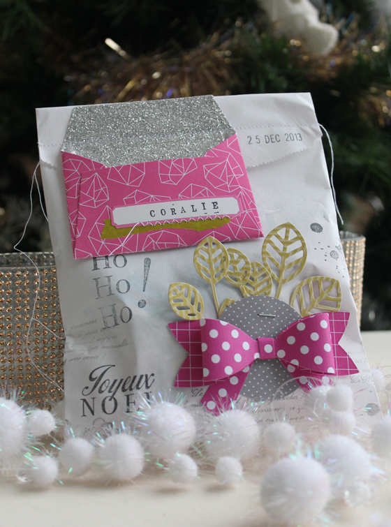 sachet surprise fille rose