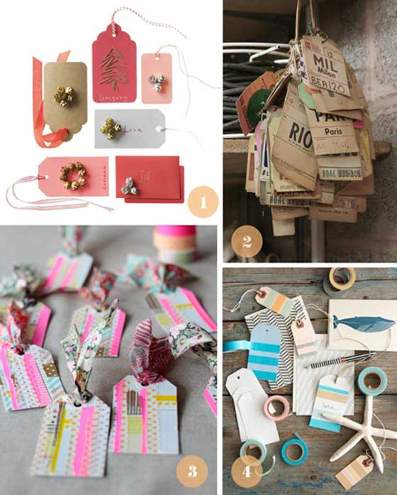 tags en mini album scrap