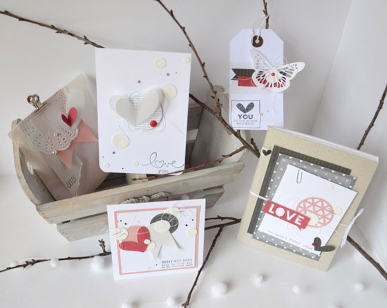 scrap carte saint valentin