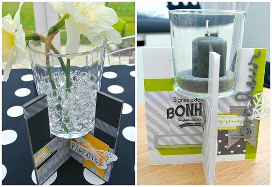 Idée déco DIY support photophore ou mini vase