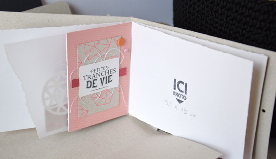 tutoriel mini album : interieur
