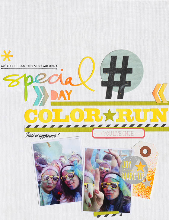 page Color run