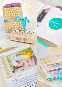 Mini-album de Stéphanie - Atelier Make and Take Kesi'art Version Scrap