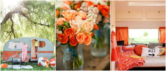 inspiration orange corail