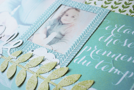 page scrapbooking canvas prisca