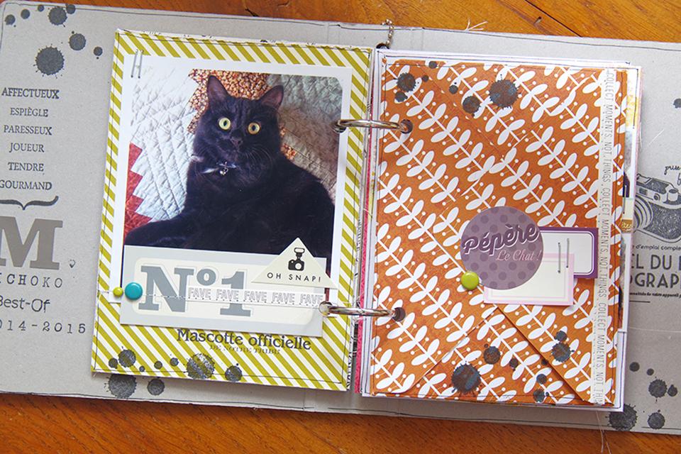 Mini Album Cat's life-Michoko Kesi'art couture Marie-Nicolas ALLIOT-6