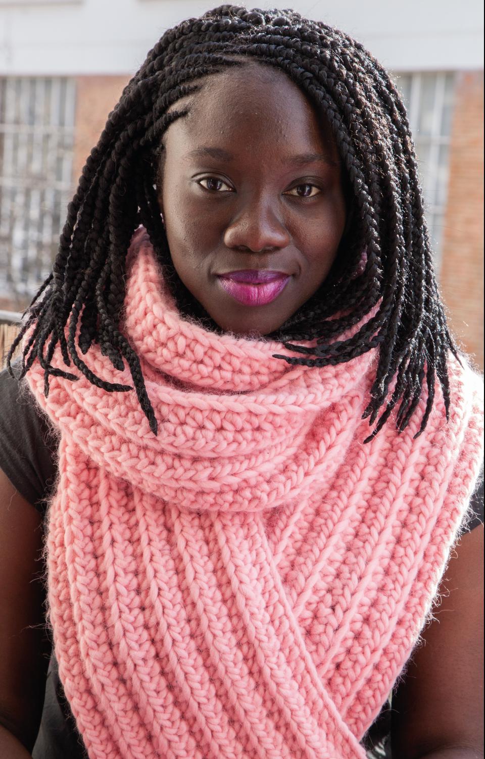 TRICOT) Mon écharpe bubblegum – Kesi Art, le blog ! 0018bc0364a