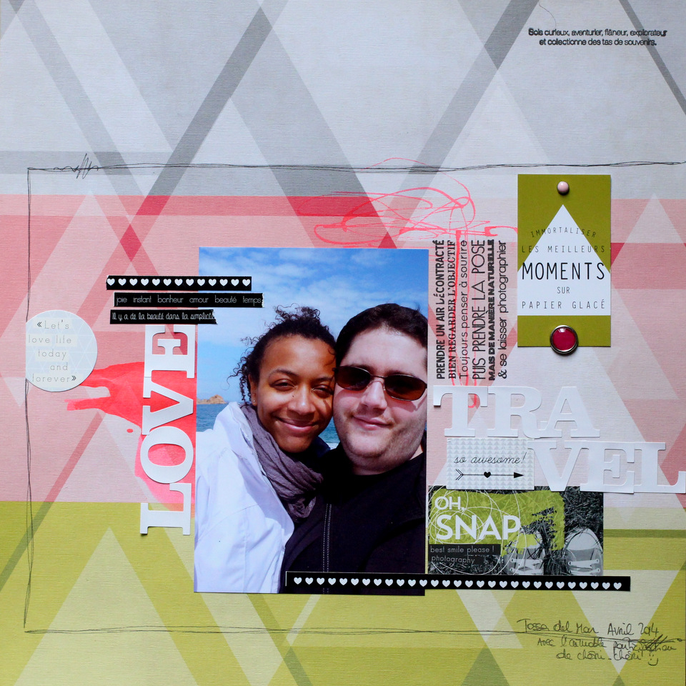kesi-art-page scrapbooking inspiration-nelly