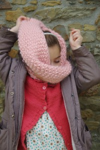 snood Peche Melba version enfant Maille name is Georgette MNAlliot-2