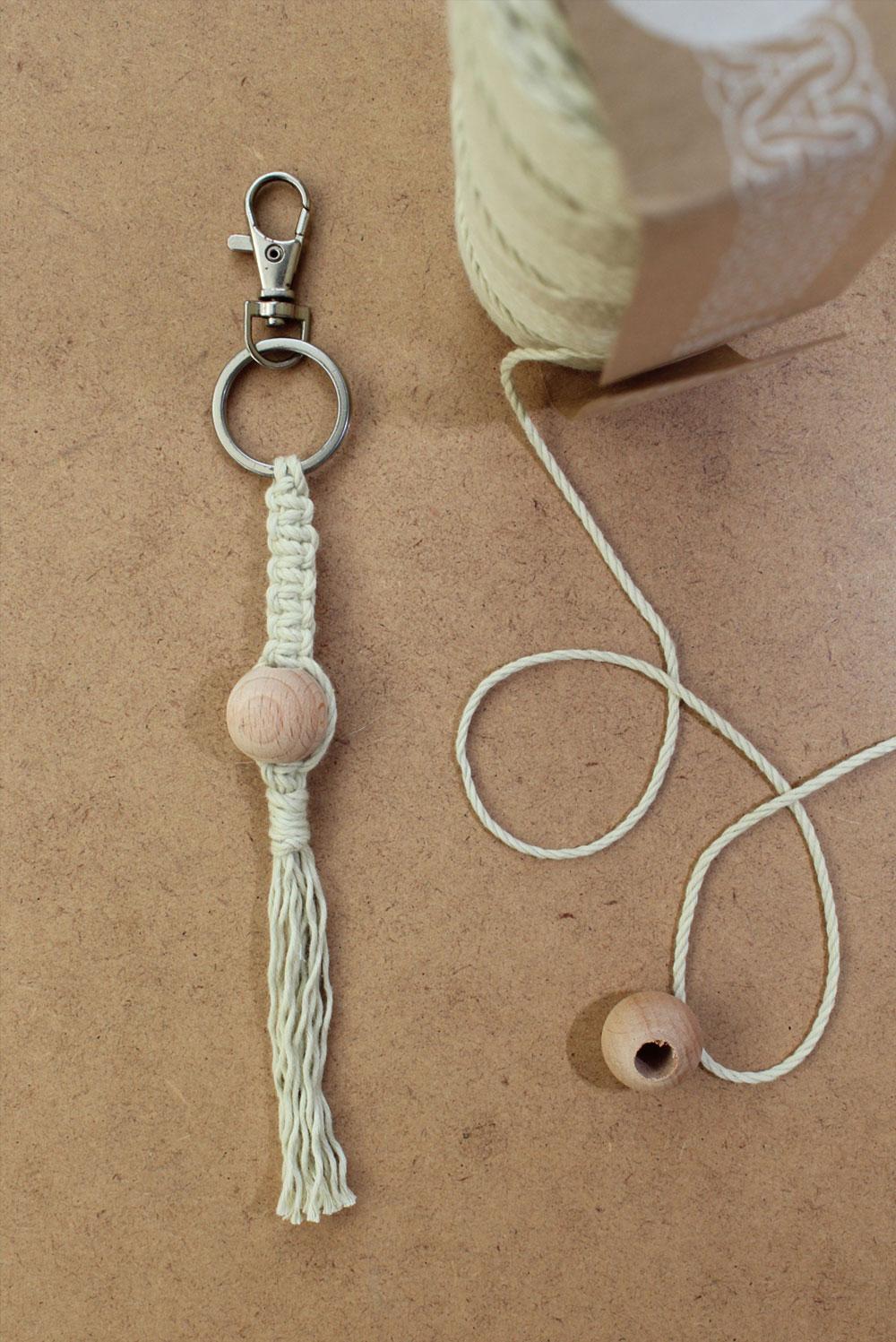 diy : porte-clés macramé – kesi'art, le blog !