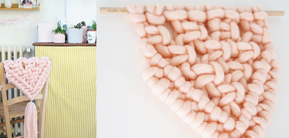 Réaliser une tenture murale avec la technique du macramé et la laine Kesi'Art