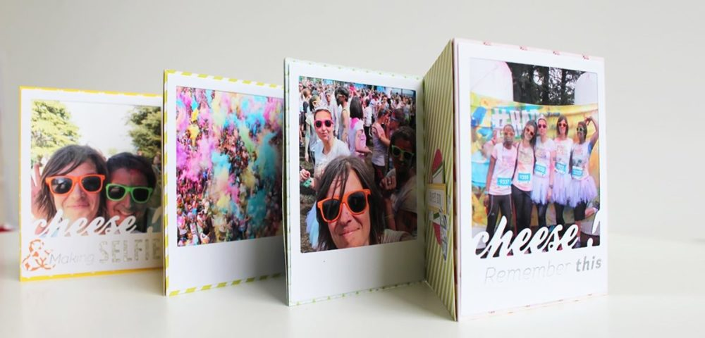 Tutoriel Kesi'Art pour scrapper un mini album polaroid