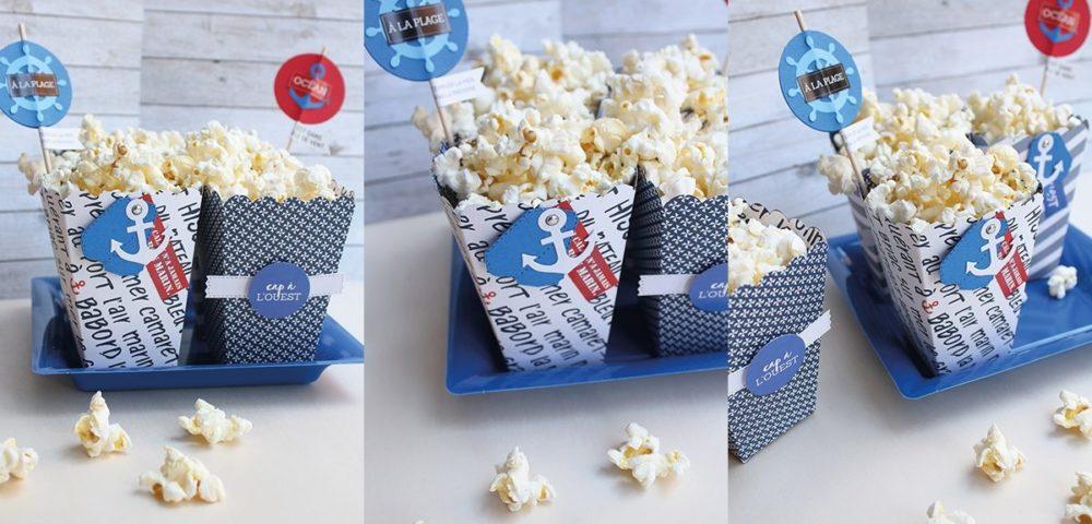 Tuto boite à popcorns grand ouest kesi'art