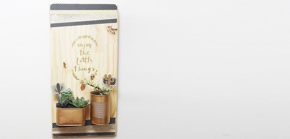 Tutoriel cadre porte cactus avec Kesi'Art