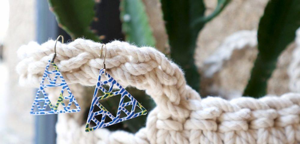 Tutoriel pour confectionner ses bijoux en papier avec Kesi'Art