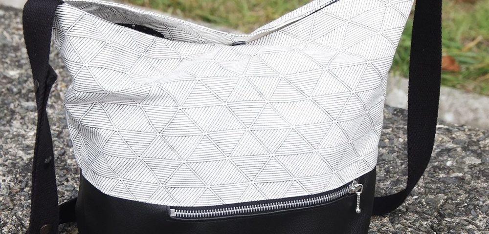 Tutoriel sac chic et pratique avec les tissus Kesi'Art