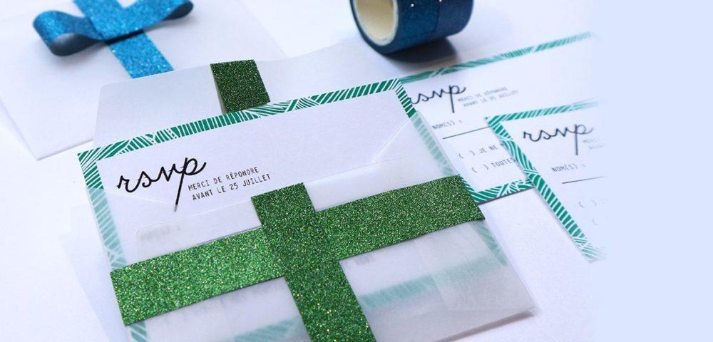 Utiliser le washi tape bling bling kesi'art pour décorer