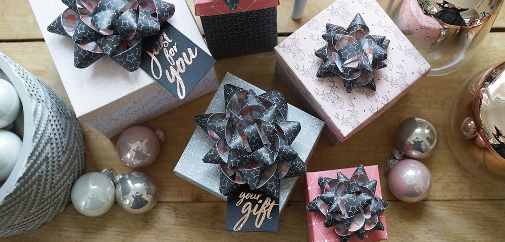 Fabriquer ses boites cadeaux de noël avec Kesi'Art